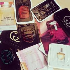 I Love Free Perfume Samples!