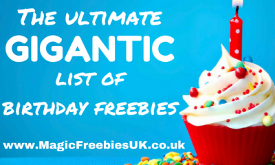Birthday Freebies: The Ultimate List of Everything You Can Get for Free! (for Apr 2021)