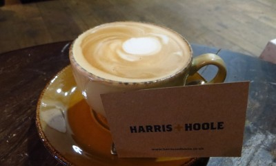 Free Artisan Coffee at Harris + Hoole