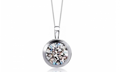 Free Sterling Silver & Crystal Necklace