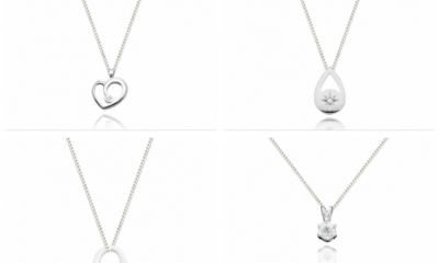 Free Sterling Silver & Diamond Pendants