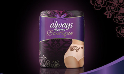 Free Pack of Always Discreet Boutique