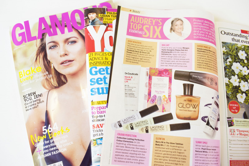Free Perfume Samples from Magazines