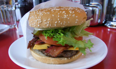 Free Burger at Ed's Diner