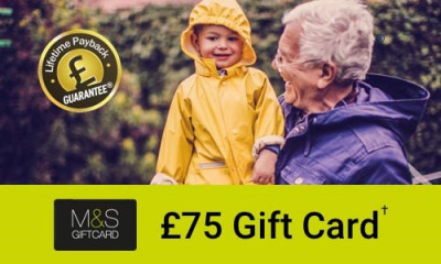 Free £75 M&S Gift Voucher
