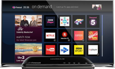 Win a 500GB Freesat box and a brand new 60 inch LG TV