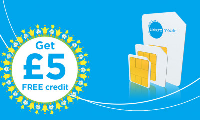 Free Lebara SIM With £5 Free Credit