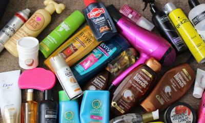 Free Hair Products - How To Make Your Hair Shine (on a tight budget!)