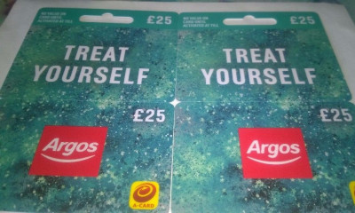 Free Argos Vouchers Throughout the Year