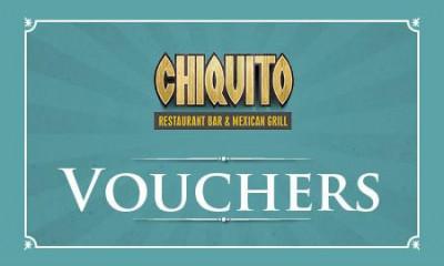 Free £10 Chiquito Voucher