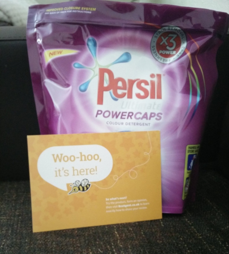 Pack of Persil washing pods