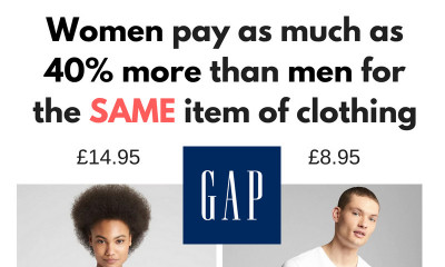 Women Pay More for SAME Item of Clothing as Men