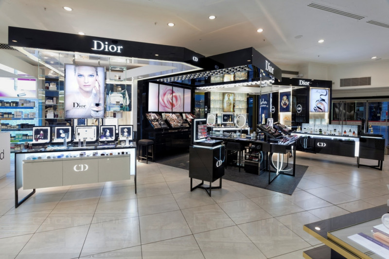 Dior beauty counter at House of Fraser Oxford Street