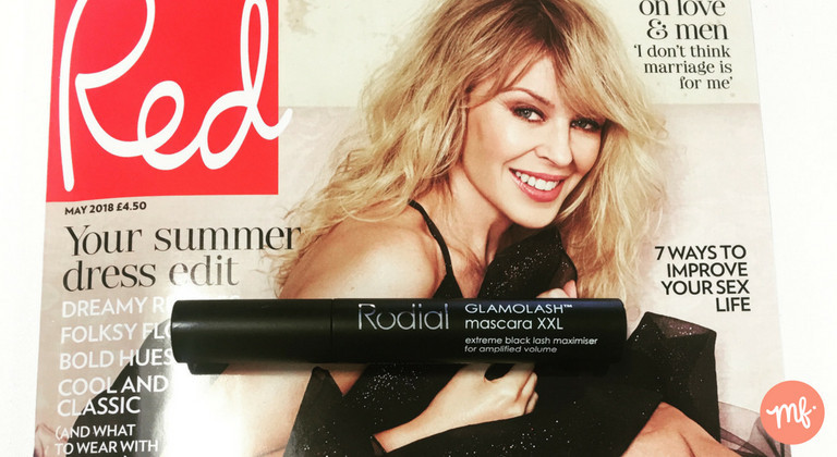 Free Rodial mascara with Red magazine (May 2018)