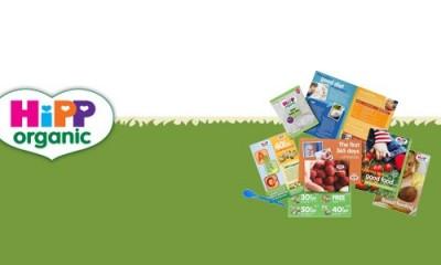 Free HiPP Organic Food & Calendar for Babies
