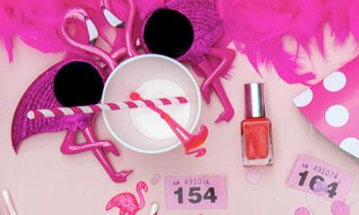 Free Pink Party Kit