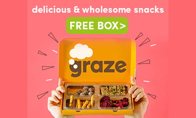 100% Free Graze Box - Snacks Worth £4.49