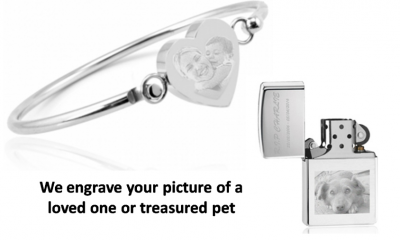 Free Personalised Item - Get Your Picture Engraved