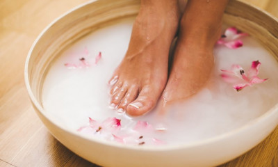 How To Achieve the Perfect Pedicure (for free)