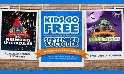 Kids Go Free with LEGOLAND® Holidays - Hurry!