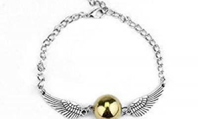 Free Golden Snitch Harry Potter Bracelet