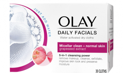 Free Olay Daily Facials Cloths