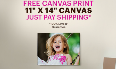 Free Canvas Print Worth £95