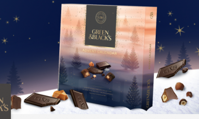 Free Green and Blacks Advent Calendar