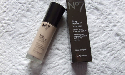 Free No7 Perfect Match Foundation