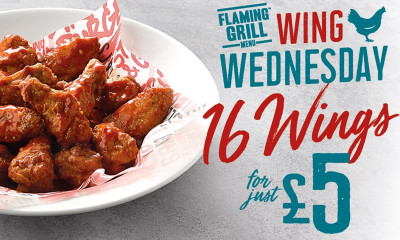 "<span class=""merchant-title"">Flaming Grill Pubs</span> 