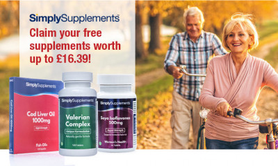 Free Pack of Vitamins worth up to £16.39