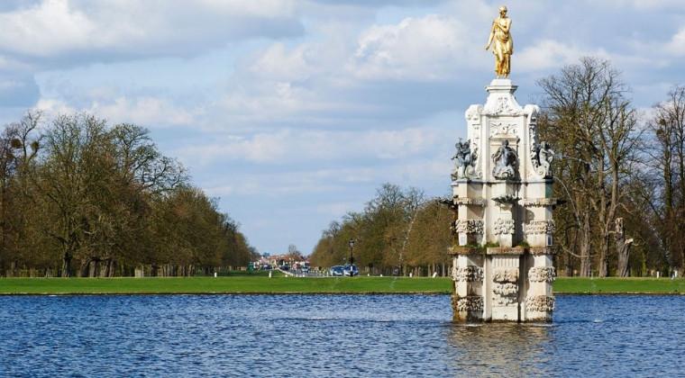 Bushy Park in Richmond, London