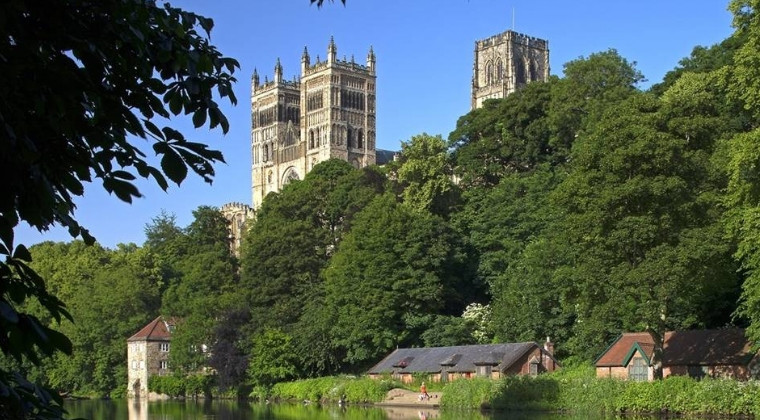 Durham Cathedral on a sunny day