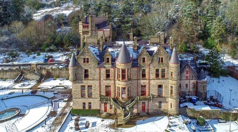 Belfast Castle in the Winter