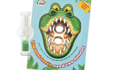 Free 2-Minute Crocodile Toothy Timer