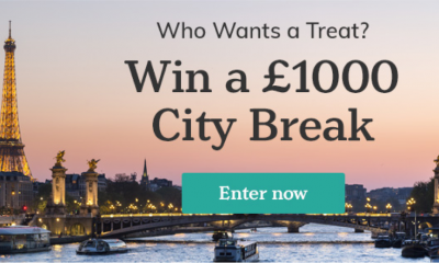 Win A City Break Worth £1,000