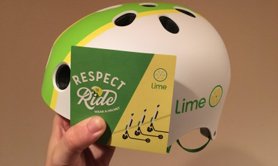 Free Bike Helmet from Lime