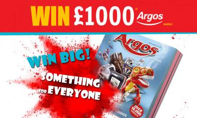 Free Argos Vouchers