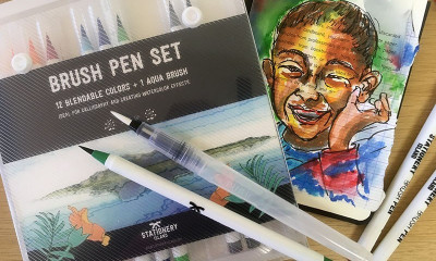Free Watercolour Pen Set