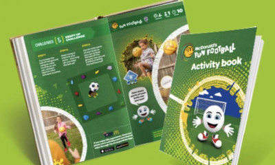 Free McDonald's Football Activity Book