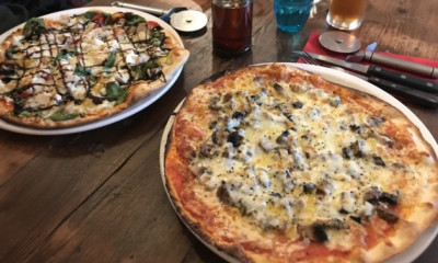 """<span class=""""merchant-title"""">Stonehouse Pizza & Carvery</span>   2-4-1 on Pizzas & Burgers"""