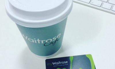 Free Hot Drink at Waitrose