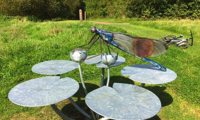 Lee Valley Sculpture Trail | Waltham Cross, Hertfordshire