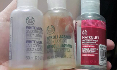 Free £5 Body Shop Voucher