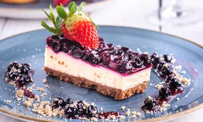 Free Prosecco Cheesecake