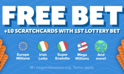 Free £105M Europe Millions Ticket & 10 Free Scratchcards