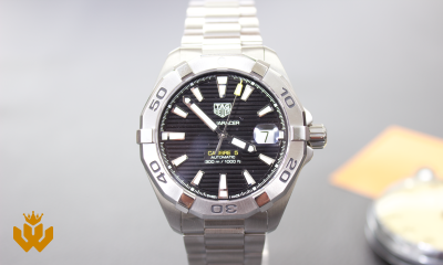 Win a Tag Heuer Aquaracer Calibre 5 Watch