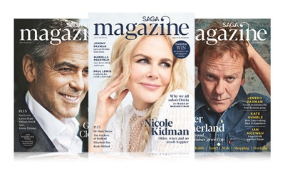 Free Copy of Saga Magazine