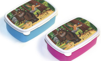 Free Personalised Gruffalo Lunch Box