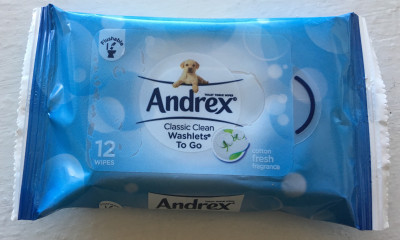 Free Andrex Wipes